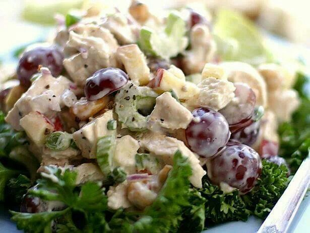 Summer Chicken Salad Jill Carnahan Md