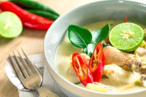 Thai(ish) Chicken Soup