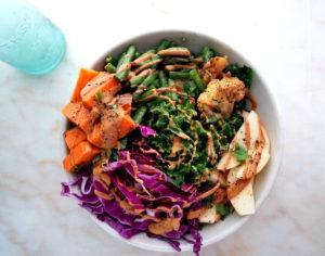 Green Bean Buddha Bowl
