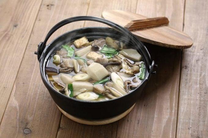 Medicinal Mushrooms and Deep Roots Soup