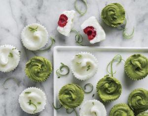 Raspberry and Green Tea Lime Melties