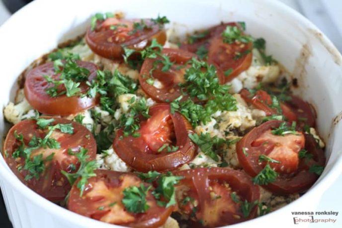 Turkey Cauliflower Bake