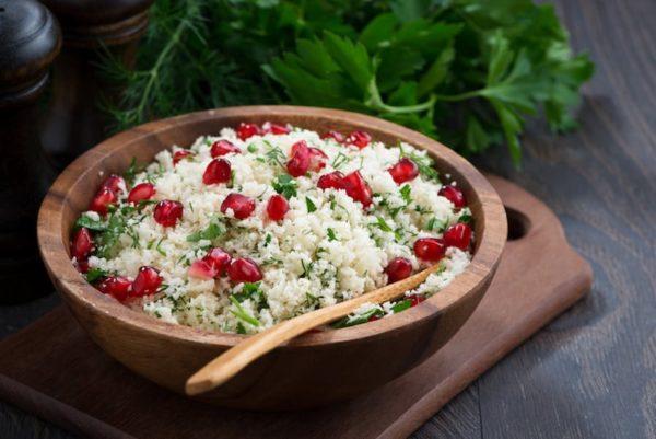 Cauliflower-Tabbouleh