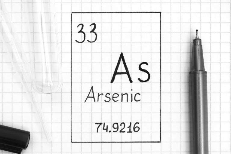 arsenic in food and water