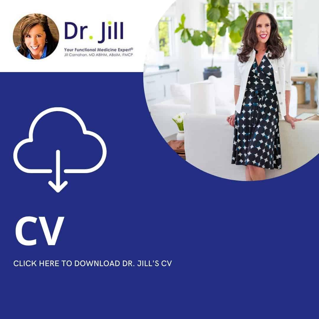 Dr. Jill's CV